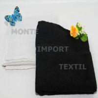 toalla de peluqueria de rizo convencioal de 90 algodon 10 poliester medida 50x100 blanca o negra