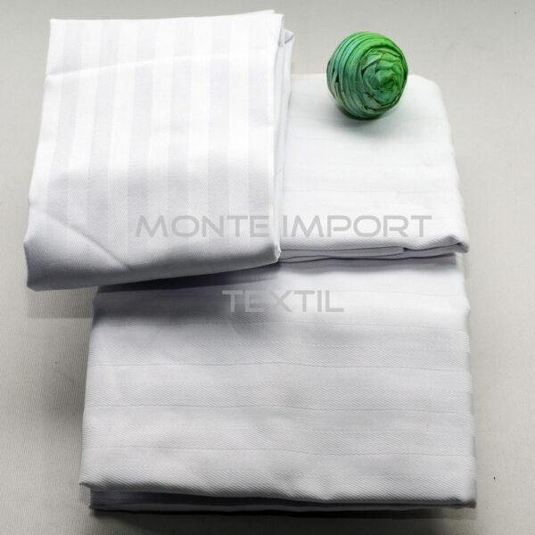 Colcha pique listada 50/50 algodón poliester