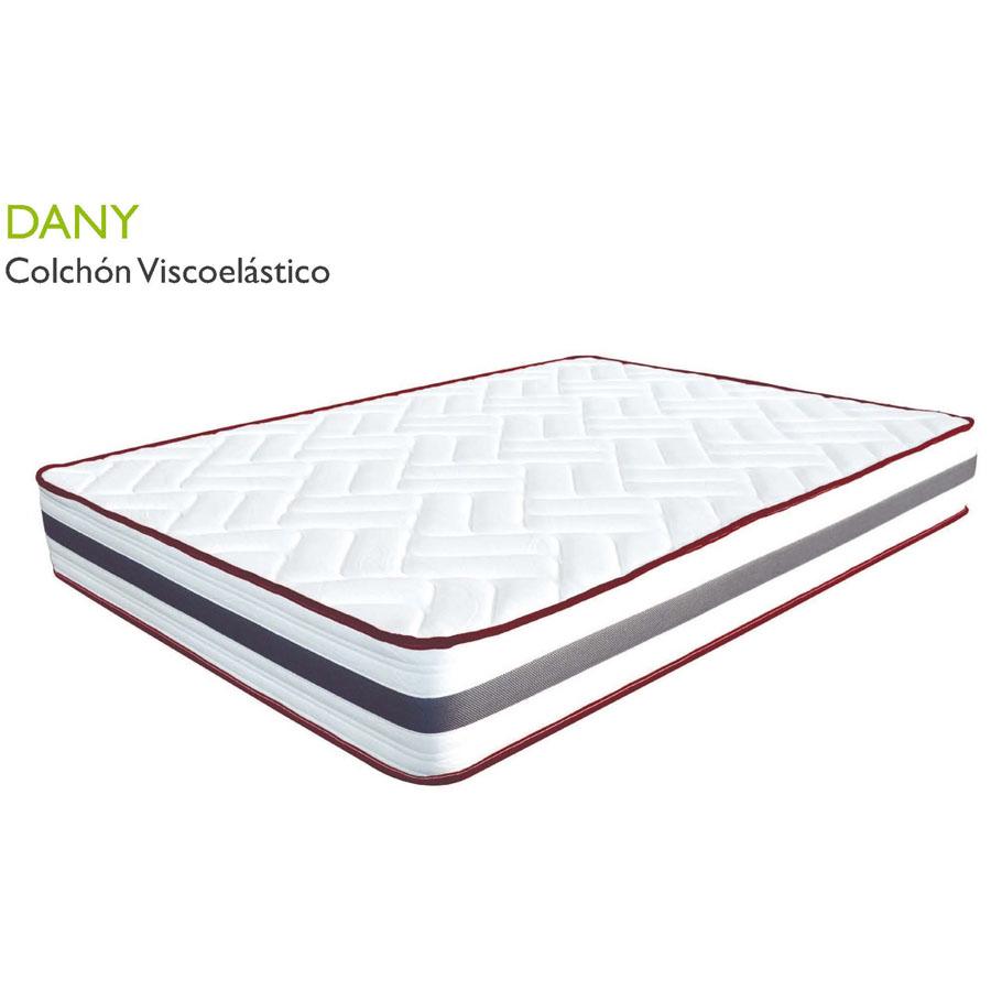 Colchón DANY viscoelástico con núcleo de polifoam