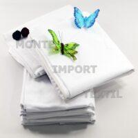 Funda interior de almohada en color blanco 50/50 algodón poliéster