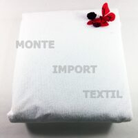 Funda de colchon de rizo pvc de 160 gramos con 4 puntes de ajustes impermeable de cualquier medida blanca