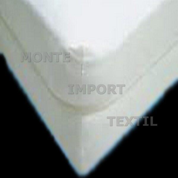 Detalle funda de colchón de rizo con cremallera