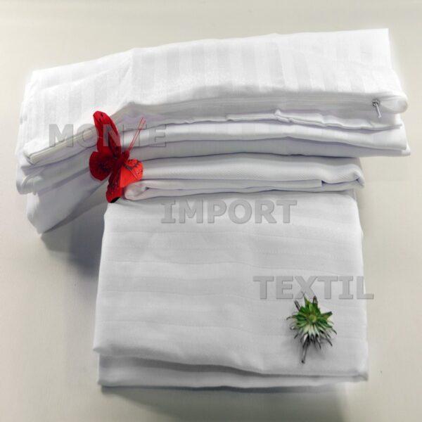 Funda de almohada para hoteles con cremallera de sraga cutí en algoón y poliéster