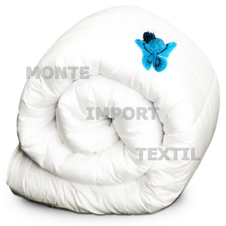 Relleno nordico de fibra hueca siliconada 100 por cien algodon puro blanco
