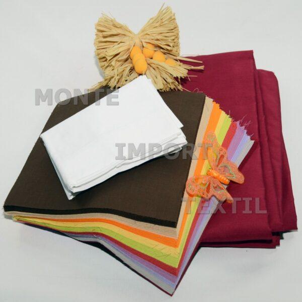 Funda de color para almohada 50% poliéster 50% algodón