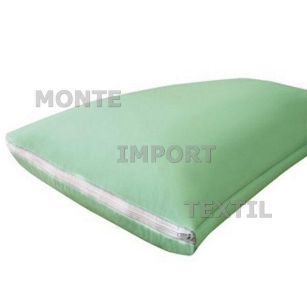 Detalle de funda de almohada de poliéster/poliuretano