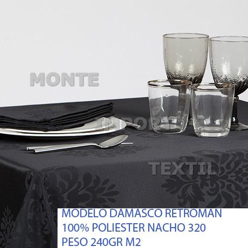 22 manteleria modelo retroman 100 poliester para manteles cubres y servilletas restaurante hotel cualquier medida
