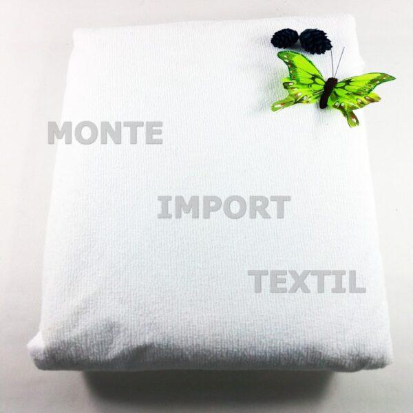 funda de colchon de poliuretano y rizo con 4 puntes de ajustes impermeable transpirable de cualquier medida blanca