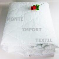 funda de colchon acolchadas de tela napa tela con 4 puntes de ajustes de cualquier medida blanca