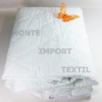 fundas de colchon acolchadas de tela napa pvc impermeable con 4 puntes de ajustes de cualquier medida blanca